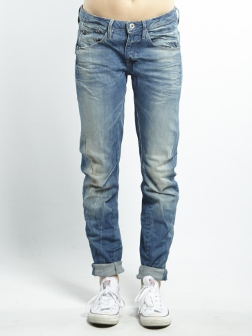 ARC 3D LOW BOYFRIEND-CYCLO STRETCH DENIM-LT AGED