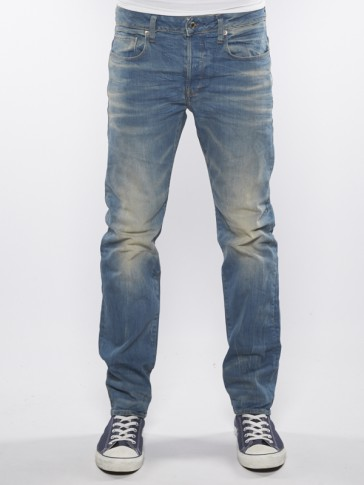 3301 STRAIGHT-CYCLO STRETCH DENIM-LT AGED