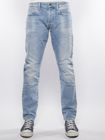 3301 TAPERED-NIPPON STRETCH-DENIM-LT AGED