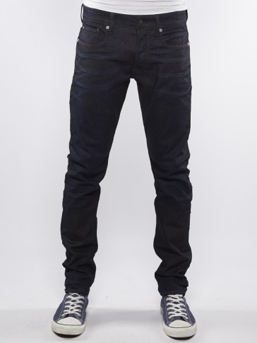 3301 TAPERED-VISOR STRETCH DENIM-DK AGED