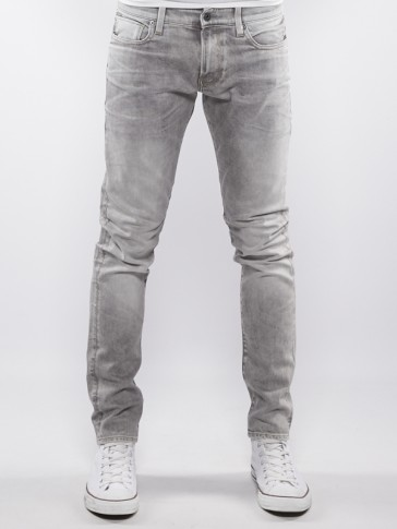 REVEND SUPER SLIM-KAMDEN GREY STRETCH DENIM-LT AGE