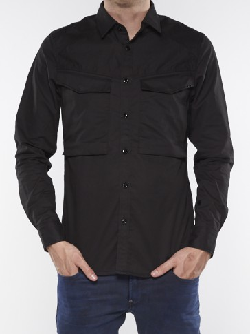 VODAN STRAIGHT SHIRT L/S D02037-7744-990