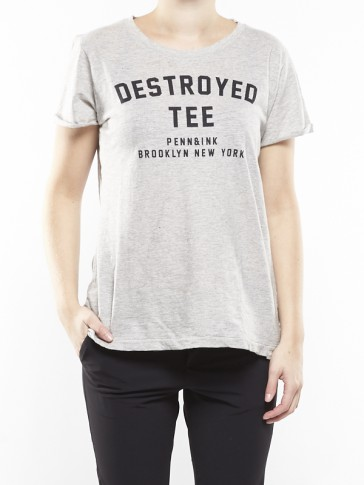 W216F022PRE DESTROYED TEE