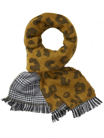 DOUBLE SIDED PATTERNED SCARF 134222