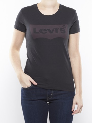 THE PERFECT TEE-BATWING BLACK