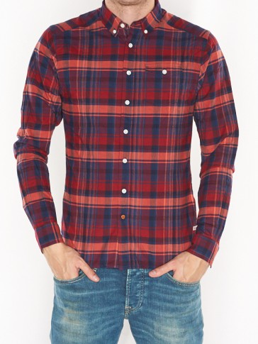 LIGHTWEIGHT BRUSHED FLANNEL SHIRT 137701