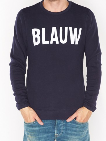 AMS BLAUW SIGNATURE BRAND SWEAT 137721