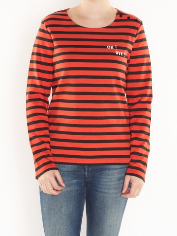 STRIPED LONG SLEEVE 140847