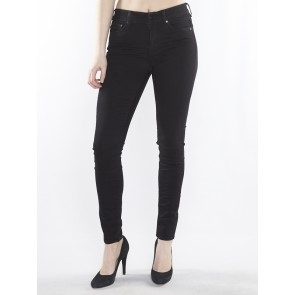3301 ULTRA HIGH SUPER SKINNY-RUBY BLACK SUPERSTRET