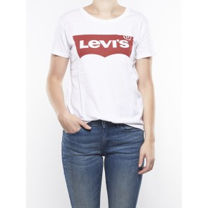 THE PERFECT TEE-GRAPHIC BRIGHT WHITE