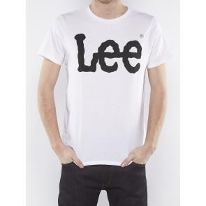 LOGO TEE WHITE-L64CAI12
