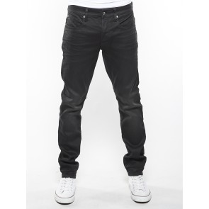 3301 TAPERED-SLANDER BIONIC BLACK SUPERSTRETCH-3D