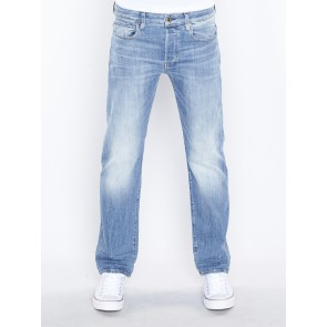 3301 STRAIGHT-AIDEN STRETCH DENIM-LT AGED