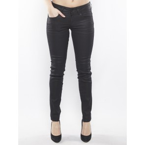 LYNN MID SKINNY-PINTT FEM BLACK STRETCH DENIM-3D D