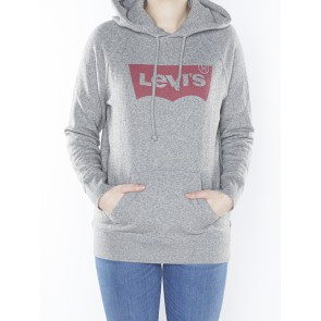 GRAPHIC HOODIE-SMOKESTACK HTR GRAPHIC