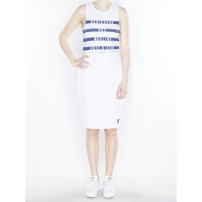 G80010XO MARINER STRIPE MIDI DRESS