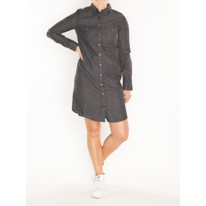 LS ICONIC WESTERN DRESS- SUPER DARK AUTHENTIC