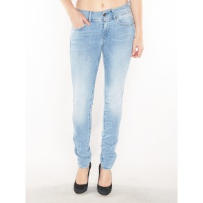 LYNN MID SKINNY-BRANTLEY STRETCH DENIM- LT AGED