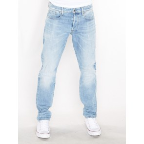 3301 TAPERED-NIPPON STRETCH DENIM-LT AGED