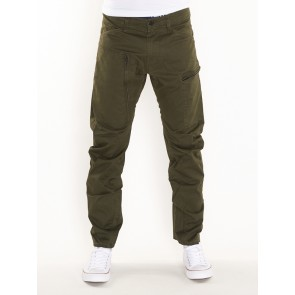 POWEL 3D TAPERED-PREMIUM MICRO STR TWILL-FOREST NIGHT
