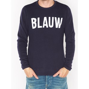 AMS BLAUW SIGNATURE BRAND SWEAT 137721