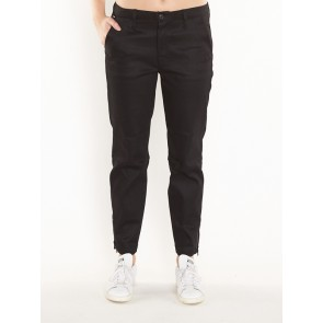 BRONSON BIKER MID SKINNY-CILEX BLACK SUPERSTRETCH-RAW PRESSED