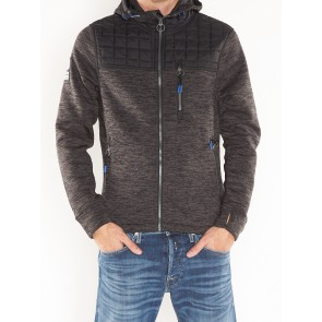 M20004MP MOUNTAIN QUILTED ZIPHOOD