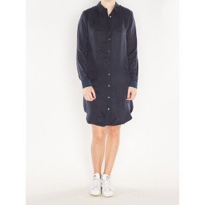 CUPRO SHIRT DRESS 141039