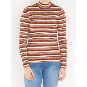 LONG SLEEVE RIB TURTLE NECK 140848