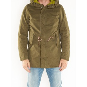 LONG HOODED PARKA 139202