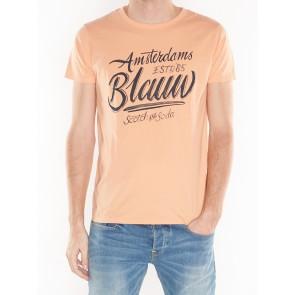 CLASSIC AMS BLAUW TEE 142083