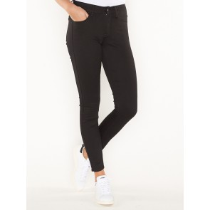 3301 D MID SUPER SKINNY-YIELD BALCK ULTIMATE STRETCH-RINSED