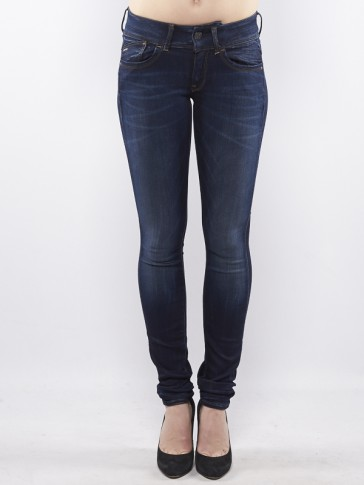LYNN MID SKINNY-SLANDER BLUE SUPERSTRETCH