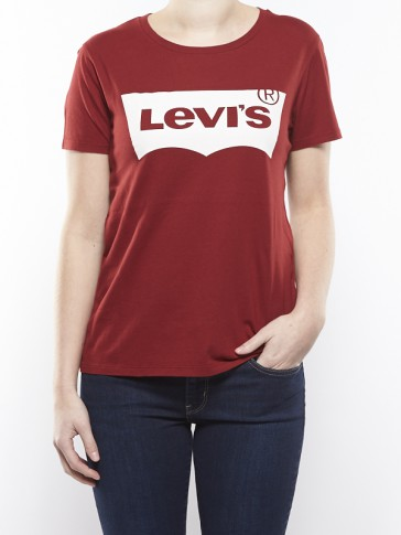 THE PERFECT TEE-BATWING RED