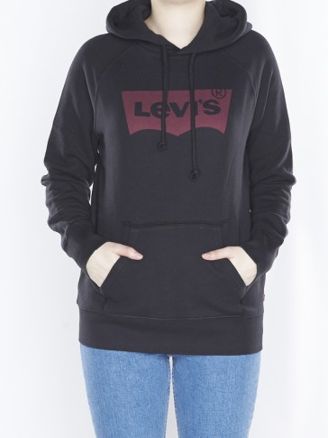 GRAPHIC HOODIE-JET BLACK GRAPHIC