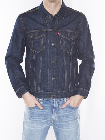 THE TRUCKER JACKET-CONIFER
