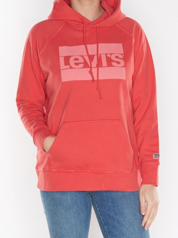 GRAPHIC SPORT HOODIE-LOGO PFD TO MATCH POINSETTIA