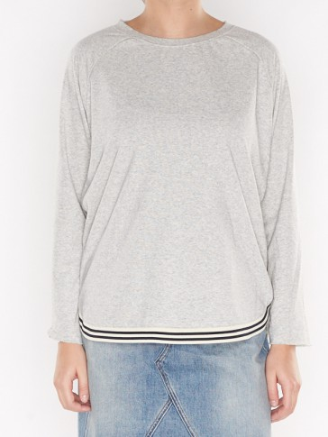 LOOSE FITTED SWEAT 141422