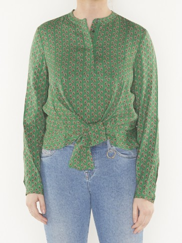 top with tie detail -149807