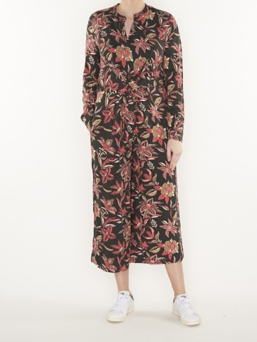 drapey printed all-in-one with knot detail- 150306