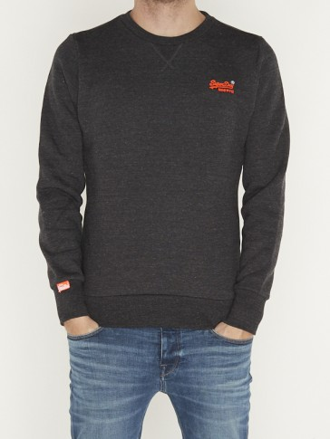 ORANGE LABEL CREW SWEAT