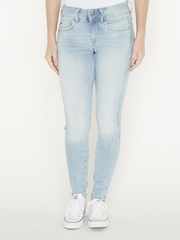 LYNN MID SKINNY-ELTO SUPERTRETCH-SUN FADED BLUE