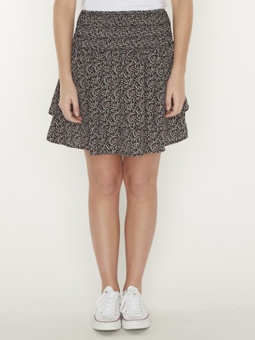DAPHNE DITZY FLORAL TWO LAYER SKIRT
