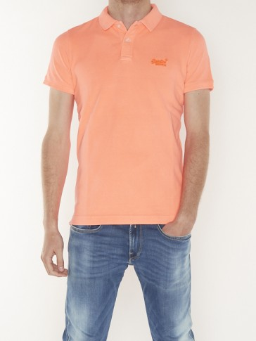VINTAGE DESTROYED S/S PIQUE POLO