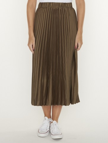 PLEATED MIDI LENGTH SKIRT 159100