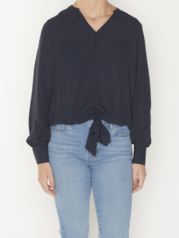 TOP WITH V-NECK 158950