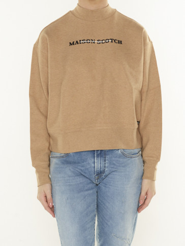 RELAXED HIGH NECK SWEAT