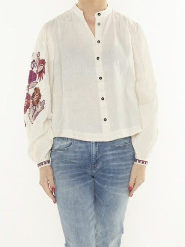 EMBROIDERED TOP 161952