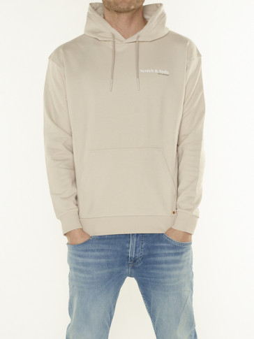 ORGANIC FELPA HOODED SWEAT 162346