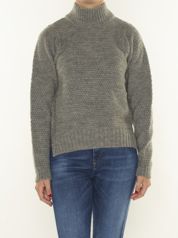STRUCTURE MOCK KNIT